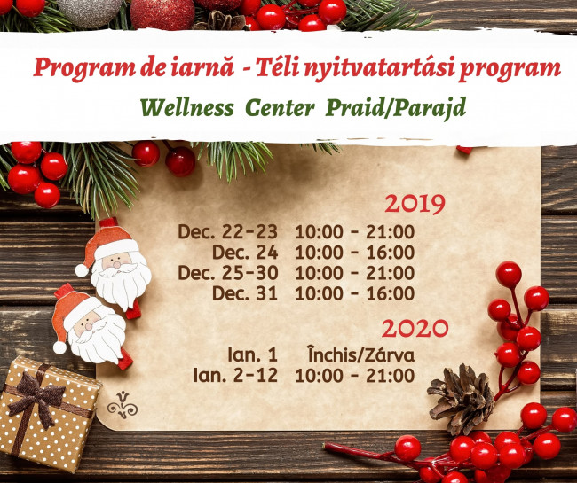 Téli-va­ká­ci­ós-prog­ram-Wellness-Center-Parajd-2019